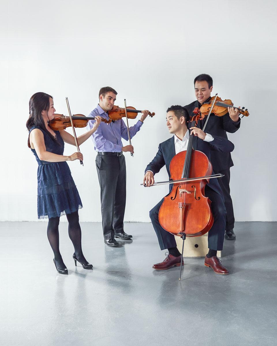 The Afiara Quartet - Biography